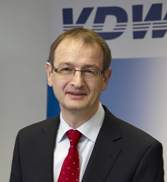 Dr. Wilfried Schäfer, Executive Director, The trade association VDW (German Machine Tool Builders' Association)