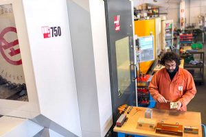 Capecchi Srl of Italy is an example of how even smaller firms can now access affordable multi-axis CNC machine tools, such as the Haas UMC-750 Universal Machining Centre.