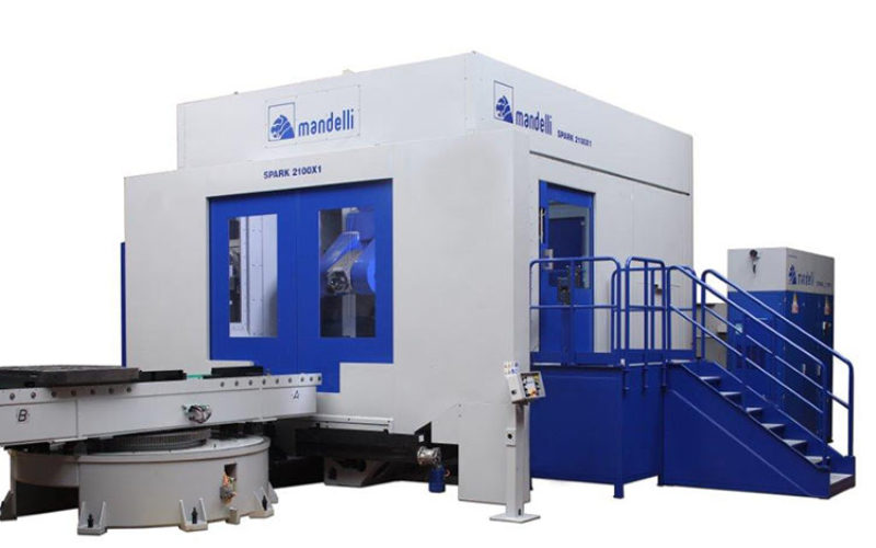 Mandelli Sistemi machining centers suitable for working hard material with a complex shape
