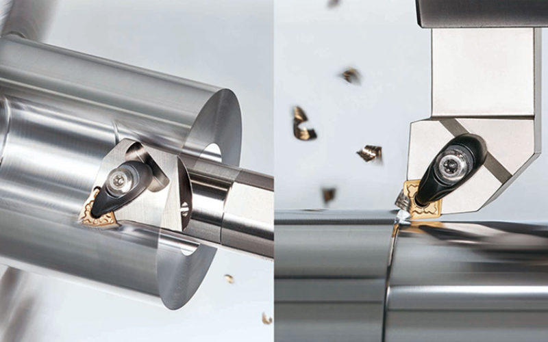 Expansion of internal and external toolholders for EcoTurn, the economical insert series