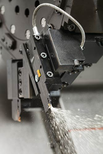 For manufacturers process security in terms of good chip control and long reliable tool-life is critical to efficient production. To meet these needs the CoroCut QD-system combines strong tools, inserts with rigid clamping and plug and play coolant supply.