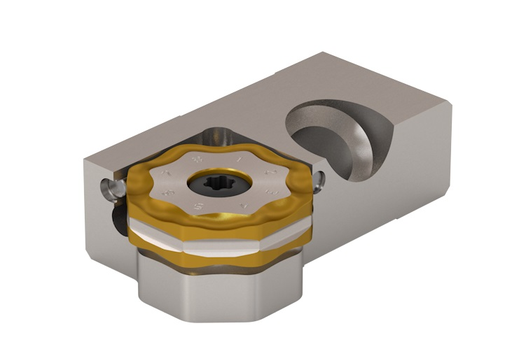 Seco Double Octomill™ Cassette Cutter achieves near zero axial