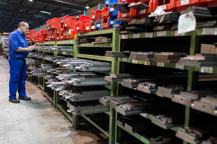 RECA (Rejillas Calibradas) makes and exports hundreds of varieties of metallic, embossed, and perforated steel flooring.