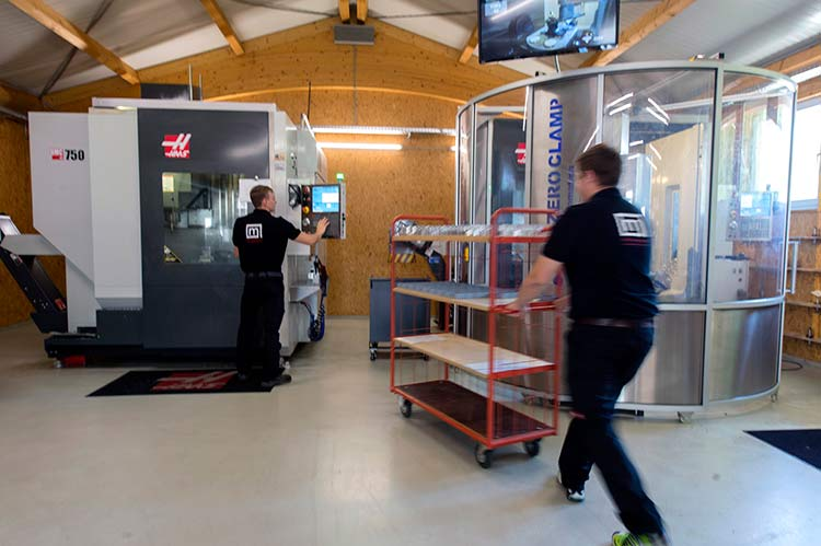 The business was founded in 1981, and has grown steadily, thanks in part to a planned programme of investment in the latest manufacturing technologies, which includes two Haas UMC-750 five-axis universal machining centres.
