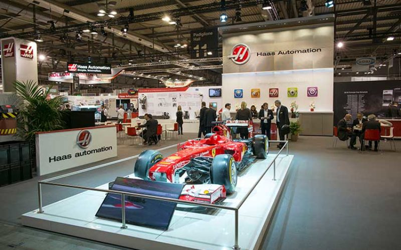 Haas Automation experiences new highs at EMO 2015