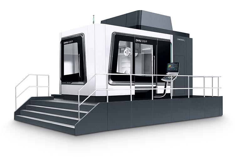 World première: DMU 210 P 2nd Generation 2nd generation with 5X torqueMASTER® for maximum cutting power with 1,300 Nm torque
