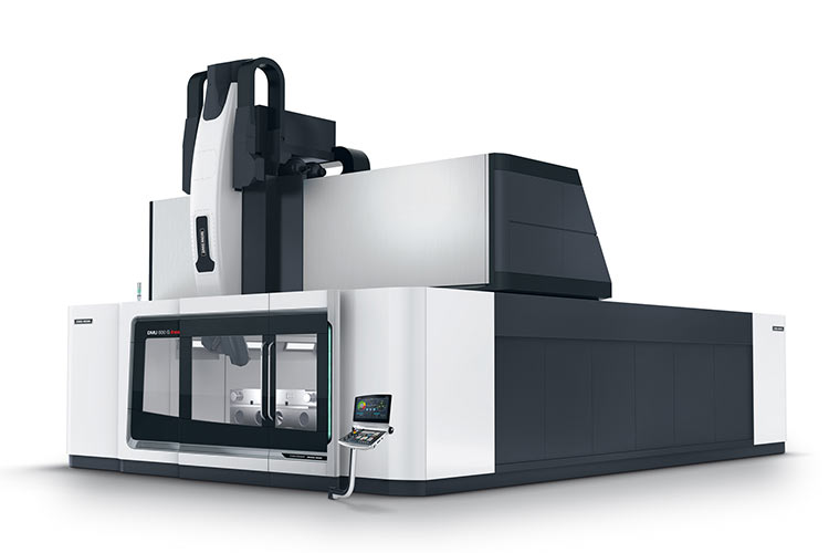 World première: DMU 600 G linear Gantry machine with linear drives in the X, Y and Z axes for unrivalled surface quality