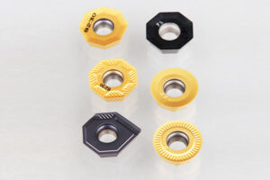 Pramet OEHT octagonal inserts for milling stainless steel.