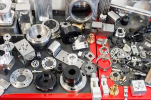 The company makes low volume parts for special machines - machine control pedals or turning handles; as well as a lot of bearing flanges.