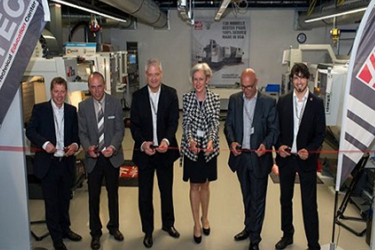 Haas Technical Education Centre Opens in Germany – MFG ...