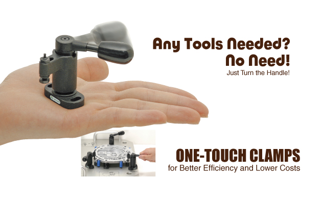 One touch clamps mfg tech update