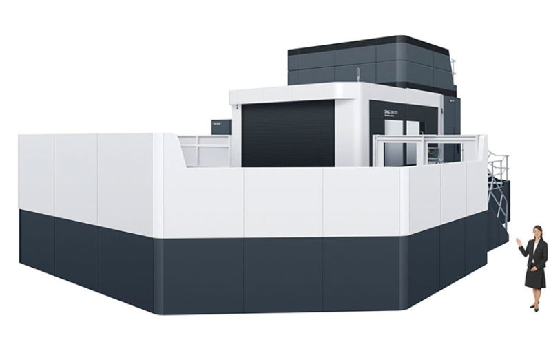 two cutting edge huge 5 axis machines installed in dmg mori iga campus mfgtechupdate. Black Bedroom Furniture Sets. Home Design Ideas
