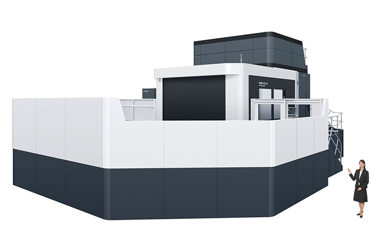 two cutting edge huge 5 axis machines installed in dmg. Black Bedroom Furniture Sets. Home Design Ideas