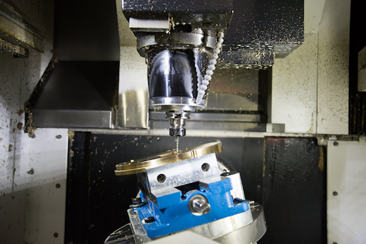 Five-axis machine from MAZAK produces medical parts without