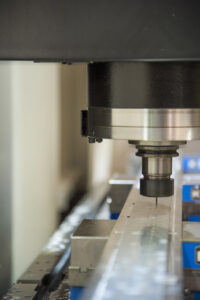 Techniform relies on the speed and precision of its Mazak VTCs to impart details along stretch form part lengths up to 45' and at their opposite ends.