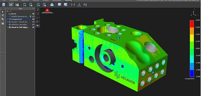 Hexagon Launches Inspire, a New Software Solution for Portable Probing and Scanning